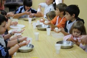 Actividades Escolares, el queso