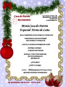 Restaurante Museo, menú especial horno
