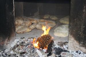 Restaurante  Casa do patrón, horno de leña