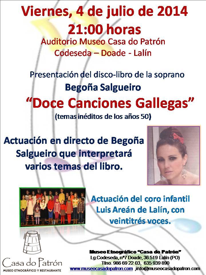 Doce canciones gallegas
