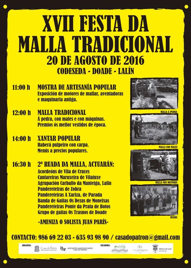 XVII Malla tradicional